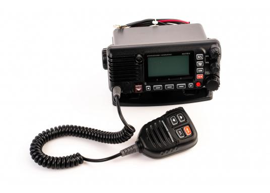 Das GX2400E von STANDARD HORIZON ist der direkte Nachfolger des beliebten GX2200E. Eine NMEA2000 sowie eine NMEA0183 Schnittstelle gehört für das GX2400E zum Standard. Der integrierte 66 Kanal GPS Empfänger sorgt für einen stabilen GPS Empfang. Des Weiteren ist das GX2400E mit einem integrierten AIS Empfänger ausgestattet. Die empfangenen AIS Daten können mittels NMEA2000 oder NMEA0183 zum Beispiel an Seekartenplotter ausgegeben werden. (Bild 5 von 7)