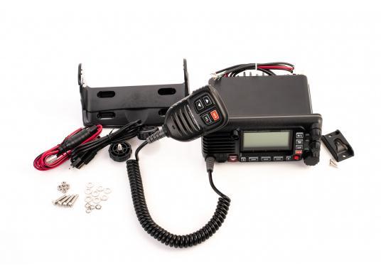 Das GX2400E von STANDARD HORIZON ist der direkte Nachfolger des beliebten GX2200E. Eine NMEA2000 sowie eine NMEA0183 Schnittstelle gehört für das GX2400E zum Standard. Der integrierte 66 Kanal GPS Empfänger sorgt für einen stabilen GPS Empfang. Des Weiteren ist das GX2400E mit einem integrierten AIS Empfänger ausgestattet. Die empfangenen AIS Daten können mittels NMEA2000 oder NMEA0183 zum Beispiel an Seekartenplotter ausgegeben werden. (Bild 6 von 7)