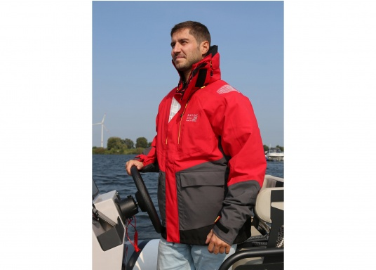 À porter à chaque fois que vous naviguez ! Laveste AUCKLAND de Marinepool présente toutes les caractéristiques du confort, la respirabilité, l'imperméabilité et la praticité demandée par les marins exigeants. (Image 9 de 13)