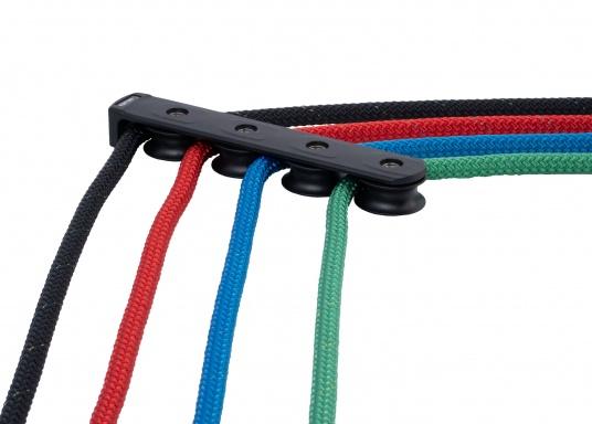 Widerstandsfähige und äußerst vielseitig einsetzbare Leine in höchster Qualität. Besonders gut geeignet als Schot, Vorläufer, Streckerleine und Trimmleine für Yachten jeder Größe. (Bild 2 von 4)
