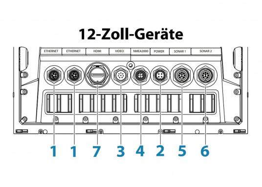 Der Zeus³ 12 ist ein einfach zu bedienendes Kartenplotter-Navigationssystem für Blauwassersegler und Regatta-Segler mit einem 12-Zoll Touchscreen-Display, leistungsstarker Elektronik, und einem großen Funktionsbereich, der speziell für den Segler entwickelt wurde.   (Bild 4 von 8)
