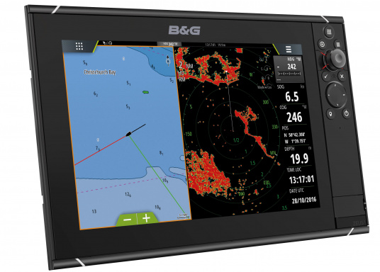 Lo Zeus³ 12 è un sistema di navigazione con plotter cartografico di facile utilizzo per velisti in mare aperto e regatanti con display touchscreen da 12 pollici, elettronica potente e un'ampia area di funzioni sviluppata appositamente per i velisti.