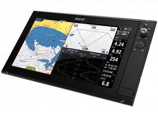 Lo Zeus³ 16 è un sistema di navigazione con plotter cartografico di facile utilizzo per velisti in alto mare e regatanti con display touchscreen da 16 pollici, elettronica potente e un'ampia area di funzioni sviluppata appositamente per i marinai.