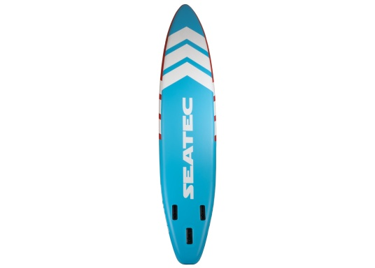 The new Touring iSUP from SEATEC boasts impressive length and glide in the water. It glides quickly and effectively, without easily veering off course - perfect for touring. (Afbeelding 3 of 10)