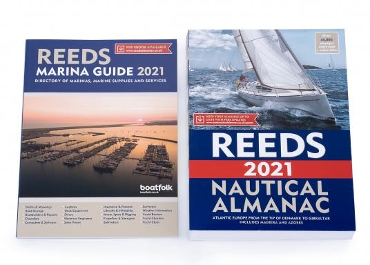 The Reeds Nautical Almanac contains all the information a skipper needs to navigate safely along the European Atlantic coast from the Danish Skagen to Gibraltar. The countries of Great Britain, Ireland, Denmark, Germany, the Netherlands, Belgium, France, Spain and Portugal as well as the archipelago of the Azores and the island of Madeira are presented, divided into 26 areas. Language: English. (Imagen 2 de 4)