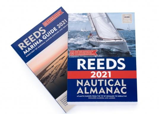 The Reeds Nautical Almanac contains all the information a skipper needs to navigate safely along the European Atlantic coast from the Danish Skagen to Gibraltar. The countries of Great Britain, Ireland, Denmark, Germany, the Netherlands, Belgium, France, Spain and Portugal as well as the archipelago of the Azores and the island of Madeira are presented, divided into 26 areas. Language: English.