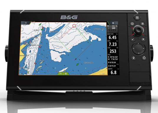 The Zeus³ 9 is an easy-to-use chart plotter navigation system for blue water and regatta sailors with a 9-inch touchscreen display, powerful electronics and a wide range of functions, specially developed for sailors.