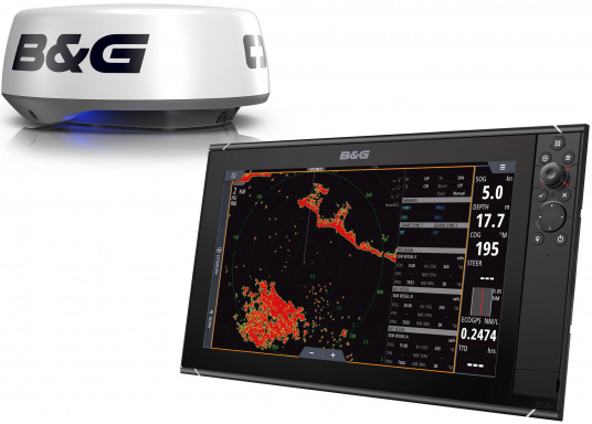 """The Zeus³ 16 is an easy-to-use chart plotter navigation system for blue water and regatta sailors with a 16-inch touchscreen display, powerful electronics and a wide range of functions, specially developed for sailors.Get great value for money with this Zeus3 16"""" HALO20+ radar bundle."""