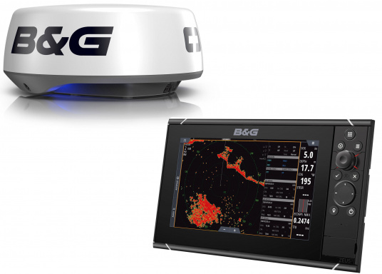 """The Zeus³ 9 is an easy-to-use chart plotter navigation system for blue water and regatta sailors with a 9-inch touchscreen display, powerful electronics and a wide range of functions, specially developed for sailors.Get great value for money with this Zeus3 9 """"HALO20 + radar bundle."""