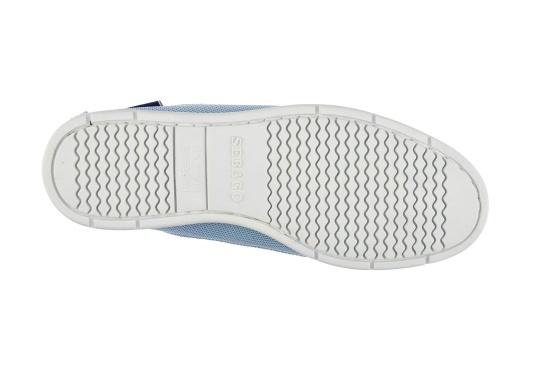 Der Damenschuh NAPLES TECH W von SEBAGO® überzeugt mit seinem modernen und komfortablen Design. Die Innensohle ist gepolstert und herausnehmbar. Sein Material besteht aus atmungsaktivem Mesh. Er bietet jederzeit einen angenehmen Tragekomfort. (Bild 5 von 5)
