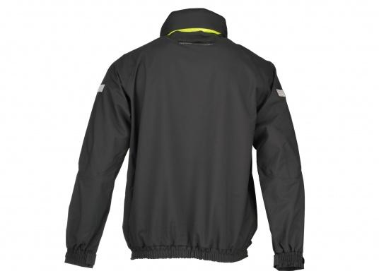 The right choice for every outdoor sports fan! The CARDIFF waterproof and breathable jacket from Marinepool consists of a high-quality 2-layer fabric with MPU membrane and stands out with its modern design and functionality. Available in sizes XS - XXXL.Colour: anthracite. (Afbeelding 4 of 11)