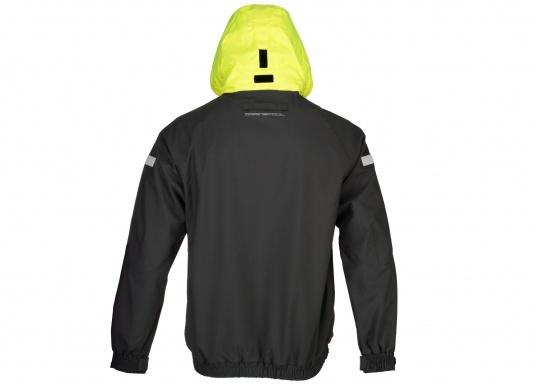 The right choice for every outdoor sports fan! The CARDIFF waterproof and breathable jacket from Marinepool consists of a high-quality 2-layer fabric with MPU membrane and stands out with its modern design and functionality. Available in sizes XS - XXXL.Colour: anthracite. (Afbeelding 9 of 11)