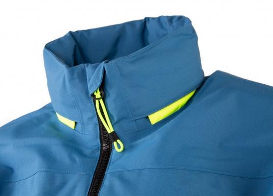 The right choice for every outdoor sports fan! The CARDIFF waterproof and breathable jacket from Marinepool consists of a high-quality 2-layer fabric with MPU membrane and stands out with its modern design and functionality. Available in sizes XS - XXXL. Colour: steel (Image 7 of 12)