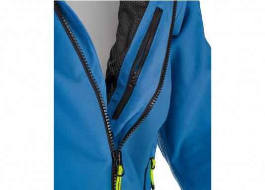 The right choice for every outdoor sports fan! The CARDIFF waterproof and breathable jacket from Marinepool consists of a high-quality 2-layer fabric with MPU membrane and stands out with its modern design and functionality. Available in sizes XS - XXXL. Colour: steel (Image 5 of 12)