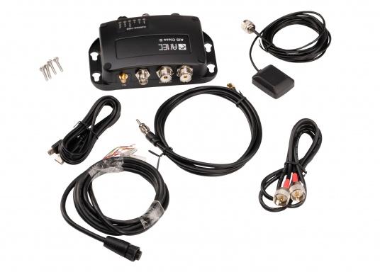 Der Zeus³ 16 ist ein einfach zu bedienendes Kartenplotter-Navigationssystem für Blauwassersegler und Regatta-Segler mit einem 16-Zoll Touchscreen-Display, leistungsstarker Elektronik, und einem großen Funktionsbereich, der speziell für den Segler entwickelt wurde. Lieferung inklusive AMEC AIS-Transponder CAMINO 108S (integr. Splitter) und NMEA2000 Starter Kit. (Bild 11 von 11)