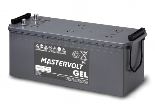 Long life and completely maintenance-free. MVG gel batteries from Mastervolt feature a gel containing the electrolyte and can be installed anywhere without additional ventilation. They are ideal for cyclical applications or as a service battery. (Image 4 of 6)