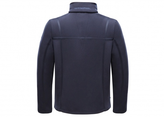 For all outdoor and leisure activities! The FALKLAND II maritime fleece jacket is warm and breathable and the stretch fabric guarantees maximum freedom of movement, so the jacket adapts individually to the body.Colour: navy blue.Available in sizes S-XXXL. (Image 2 of 8)