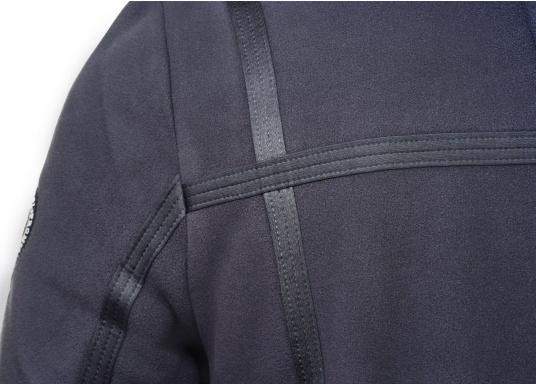 For all outdoor and leisure activities! The FALKLAND II maritime fleece jacket is warm and breathable and the stretch fabric guarantees maximum freedom of movement, so the jacket adapts individually to the body.Colour: navy blue.Available in sizes S-XXXL. (Image 4 of 8)