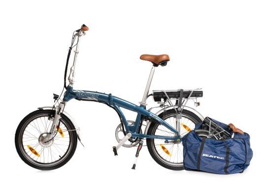 Mit dem neuen Alu-E-Bike BLIZZARD PRO wird der Weg zum Ziel. Als Weiterentwicklung des beliebten Vorgängermodells BLIZZARD, profitieren Sie von neuen Features für noch mehr Reichweite und Flexibilität. Für einen einfachen Transport ist eine Packtasche bereits im Lieferumfang enthalten. (Bild 10 von 12)