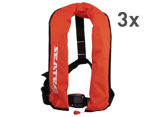 The new GO lifejacket from Seatec is fitted with an automatic trigger and is extremely comfortable to wear. (Afbeelding 7 of 7)