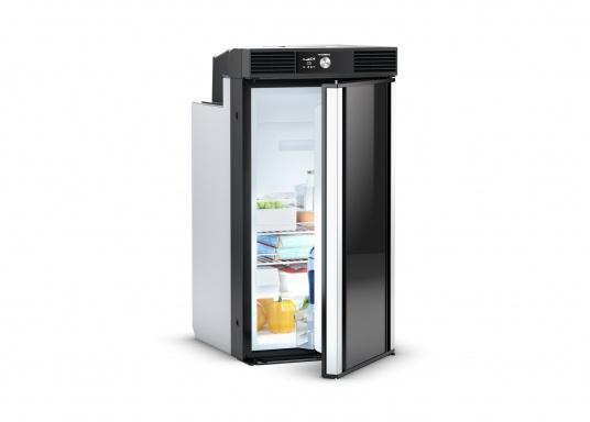 Réfrigérateur à compresseur RC 10.4T 70 de Dometic : technologie intelligente, performances de refroidissement avérées, indépendance complète. volume : 70 litres.