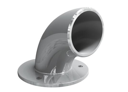 Passender Ketteneinlauf für die LOFRANS Ankerwinde SX4. Der Ketteneinlauf ermöglicht einen einfachen und reibungslosen Übergang der Ankerkette aus und in den Ankerkasten.