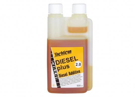 DIESEL PLUS 2.0 is the successor to the popular DIESEL PLUS, with a new formulation. The anti-fouling component contained in the product keeps bio-mould and bacteria out of pipes, filters and spray nozzles. Dosage is the same as for Diesel Plus: 1 litre is enough for 1000 litres of fuel.