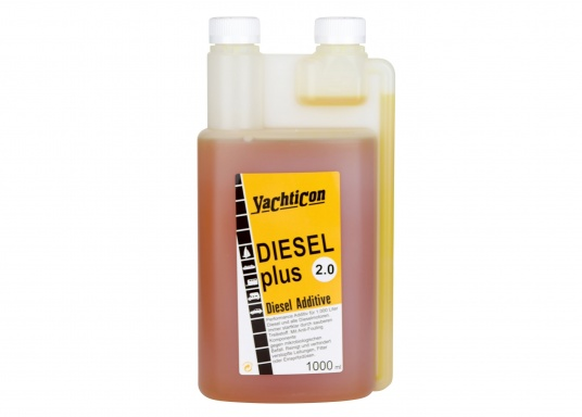 DIESEL PLUS 2.0 is the successor to the popular DIESEL PLUS, with a new formulation. The anti-fouling component contained in the product keeps bio-mould and bacteria out of pipes, filters and spray nozzles. Dosage is the same as for Diesel Plus: 1 litre is enough for 1000 litres of fuel. (Image 2 of 5)