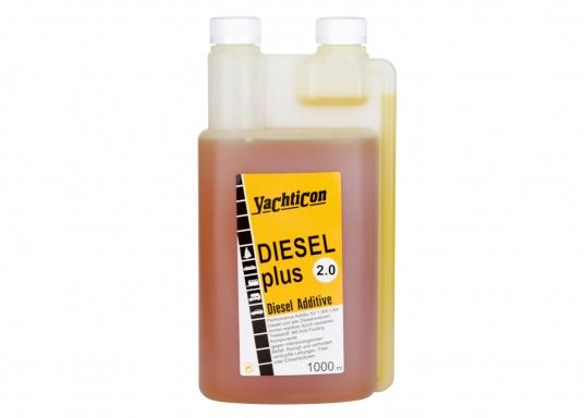 DIESEL PLUS 2.0 ist der Nachfolger mit neuer Formulierung des bewährten DIESEL PLUS. Mit der enthaltenen Anti-Fouling-Komponente werden Bioschimmel und Bakterien aus Leitungen, Filter sowie Spritzdüsen ferngehalten.Die Dosierung ist die gleiche wie beim Diesel Plus: 1 Liter reicht für 1000 Liter Treibstoff. (Bild 2 von 5)