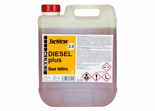DIESEL PLUS 2.0 is the successor to the popular DIESEL PLUS, with a new formulation. The anti-fouling component contained in the product keeps bio-mould and bacteria out of pipes, filters and spray nozzles. Dosage is the same as for Diesel Plus: 1 litre is enough for 1000 litres of fuel. (Image 3 of 5)