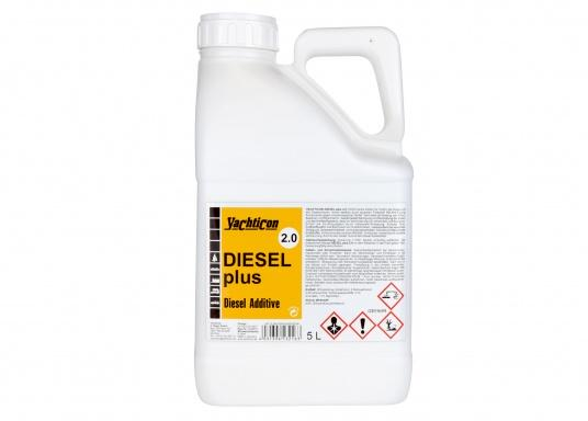 DIESEL PLUS 2.0 is the successor to the popular DIESEL PLUS, with a new formulation. The anti-fouling component contained in the product keeps bio-mould and bacteria out of pipes, filters and spray nozzles. Dosage is the same as for Diesel Plus: 1 litre is enough for 1000 litres of fuel. (Image 4 of 5)