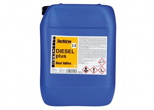 DIESEL PLUS 2.0 ist der Nachfolger mit neuer Formulierung des bewährten DIESEL PLUS. Mit der enthaltenen Anti-Fouling-Komponente werden Bioschimmel und Bakterien aus Leitungen, Filter sowie Spritzdüsen ferngehalten.Die Dosierung ist die gleiche wie beim Diesel Plus: 1 Liter reicht für 1000 Liter Treibstoff. (Bild 5 von 5)