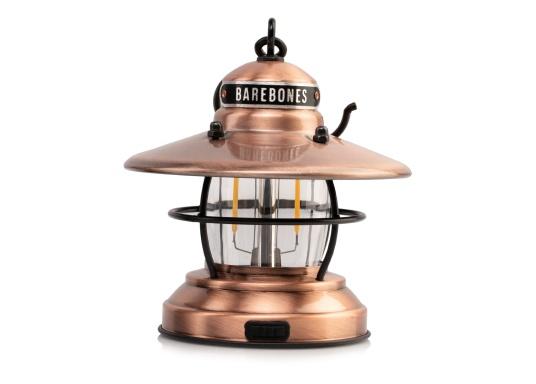 Las linternas LED de Barebones ahora también están disponibles en la versión Mini. A pesar de su pequeño formato, las lámparas sorprenden por combinar un diseño clásico con tecnología moderna. (Imagen 2 de 6)