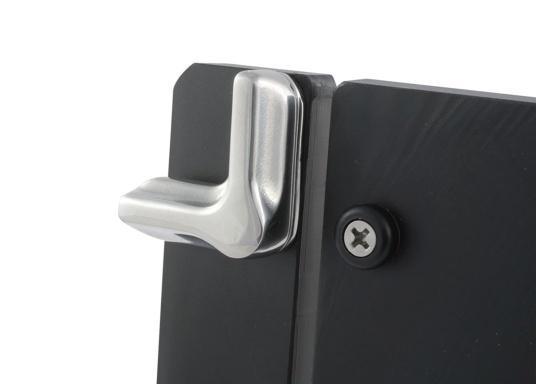 Edelstahl Drehverschluss für Ihre Schrank-, oder Schubladentüren. (Bild 3 von 10)