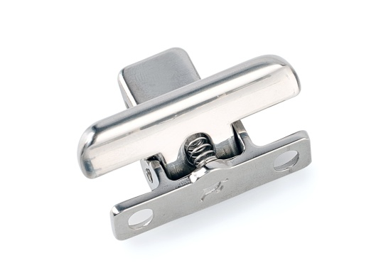 Edelstahl Verschluss für Schranktüren und Schubladen. (Bild 2 von 4)