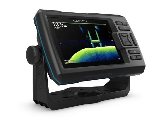 Dank innovativer Farboptionen sehen Sie Fische und Strukturen wie nie zuvor! Der Fishfinder STRIKER Cast von Garmin überzeugt mit hochauflösenden Sonarbildern, einem ausgezeichneten Kontrast und integriertem GPS. So können die Lieblingsspots zum Angeln problemlos markiert werden, um jederzeit den Weg dorthin zurückzufinden. (Bild 4 von 5)