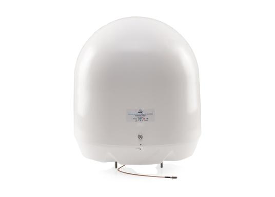 Never miss your favourite TV shows or major sporting event again! The fully automatic, self-tracking Pandora NEO marine satellite TV antenna from Glomex makes this possible.Thanks to its wireless interface, you can configure the Glomex Pandora NEO V8001N quickly and easily with your smartphone. (Imagen 2 de 8)