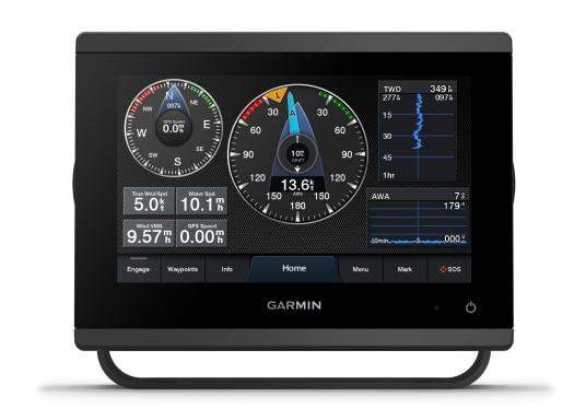 """Die neue GPSMAP-Serie verfügt über eine deutlich höhere Auflösung und eine noch schnellere Prozessorleistung. Zusätzlich bietet der 7"""" Touchscreen von Garmin eine optimierte Kartendarstellung, eine hervorragende Benutzeroberfläche und kann problemlos in das Garmin-Marinesystem integriert werden. (Image 4 of 9)"""