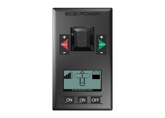 Die PRO-Heckstrahlruder von SIDE-POWER werden im Set mit Montageset, Leistungssteuereinheit und Bedienpanel geliefert. Hinweis:Ein S-Link Netzwerk ist notwendig. (Bild 5 von 6)