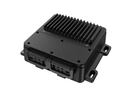 Bleiben Sie überall an Bord in Verbindung! An die UKW-Seefunkanlage RS100 von SIMRAD können bis zu acht Handgeräte und vier externe Lautsprecher angeschlossen werden. Das Bedienteil verfügt über eine inuitive Benutzeroberfläche und zeigt die wichtigsten Daten auf einem großen, gut lesbaren Display an. Im Lieferumfang ist ein kabelgebundenes Handgerät und ein Lautsprecher enthalten. (Bild 13 von 15)