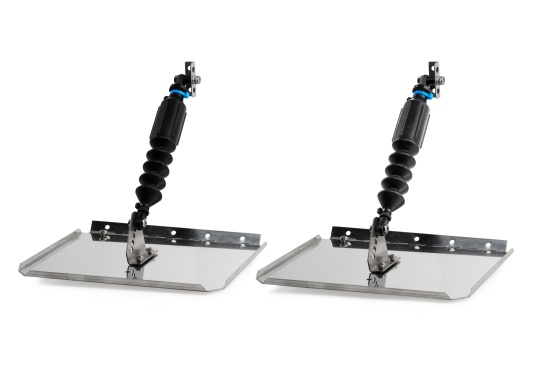 SMART TABS trim tab set is a unique trim and stabilisation system that automatically adjusts to water conditions, boat speed, and balance.