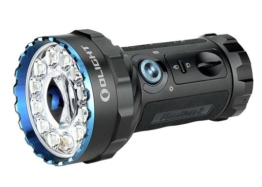 Die Taschenlampe MARAUDER 2 ist der Nachfolger der bewährten X7R MARAUDER und besticht mit ihrer starken Leuchtstärke von bis zu 14000 Lumen.