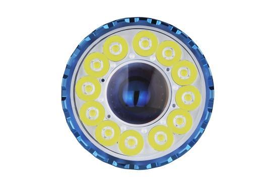 Die Taschenlampe MARAUDER 2 ist der Nachfolger der bewährten X7R MARAUDER und besticht mit ihrer starken Leuchtstärke von bis zu 14000 Lumen. (Bild 7 von 15)