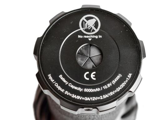 Die Taschenlampe MARAUDER 2 ist der Nachfolger der bewährten X7R MARAUDER und besticht mit ihrer starken Leuchtstärke von bis zu 14000 Lumen. (Bild 8 von 15)