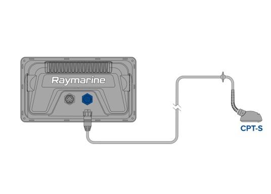 """Smartes 9""""-Multifunktionsdisplay mit benutzerfreundlicher Bedienoberfläche, integrierter GPS-Antenne und eingebauten CHIRP Sonarmodul. Die Lieferung erfolgt inklusive NAVIONICS+ Blanko-Seekartenmodul, auf das ein beliebiges Fahrtgebiet heruntergeladen werden kann. (Bild 6 von 6)"""