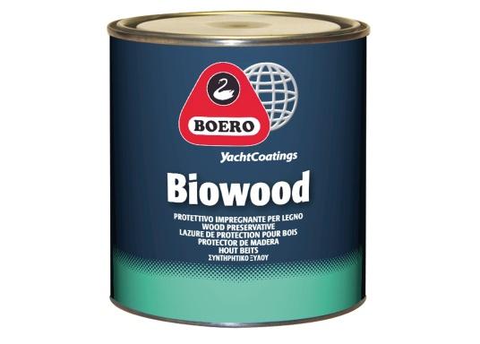 Seidenmatte Klarlacke für verschiedene Holzarten. BIOWOOD dringt tief in das Holz ein und schützt vorWitterungseinflüssen, Pilzen, Schimmel und Insekten. Geeignet im Innen- und Außenbereich.