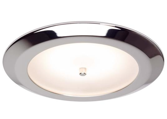 The EB12-2.0 series of recessed lights from prebit are manufactured in Germany and produce a warm white light colour of 3000 K. All four lights can not only be switched on and off by gently pressing the integrated soft button on the MAIN light, but also dimmed continuously. (Image 2 of 7)