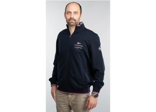 Confortevole, sportiva, elegante: la morbida giacca felpata da uomo HARRISON di marinepool si caratterizza per il suo materiale particolarmente comodo. (Immagine 4 di 11)