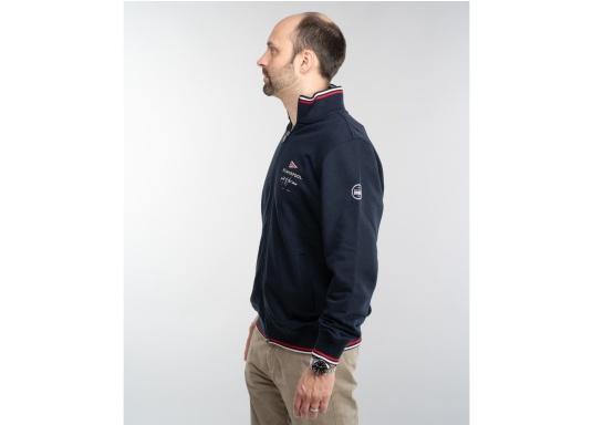 Confortevole, sportiva, elegante: la morbida giacca felpata da uomo HARRISON di marinepool si caratterizza per il suo materiale particolarmente comodo. (Immagine 6 di 11)