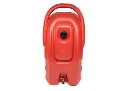 Portabler Kraftstofftank mit Rädern und einer Kapazität von 59 Litern, ideal zum Tanken von Booten, Generatoren und anderen kraftstoffbetriebenen Geräten. (Bild 2 von 6)